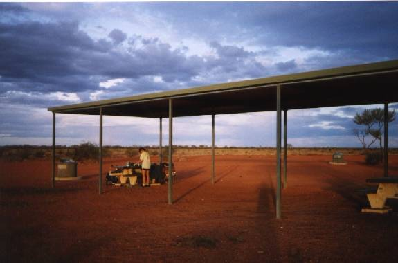 Rest Area Nth of Coober Pedy